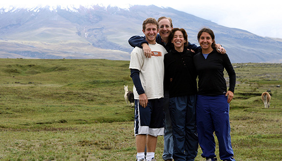 Galapagos & Andes Family Breakaway Multisport Tour